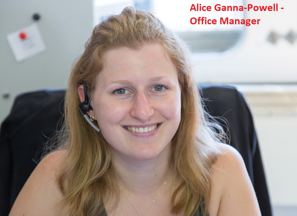 Alice Ganna-Powell - Office Manager