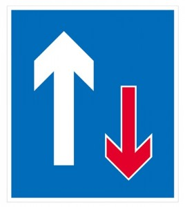 Priority to oncoming vehicles